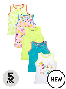 ladybird-girls-5pk-vests
