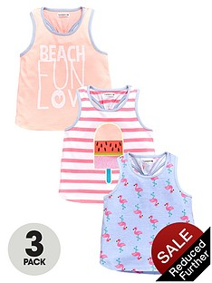 ladybird-girls-beach-fun-printed-vests-3-pack