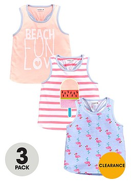 ladybird-girls-beach-fun-printed-vests-3-pack