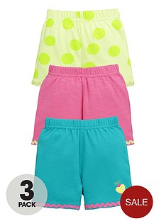 ladybird-baby-girls-bright-summer-shorts-3-pack