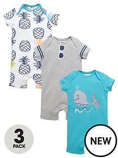 ladybird-baby-boys-summer-brightsnbsprompers-3-pack