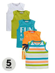 ladybird-baby-boys-bright-summer-vests-5-pack
