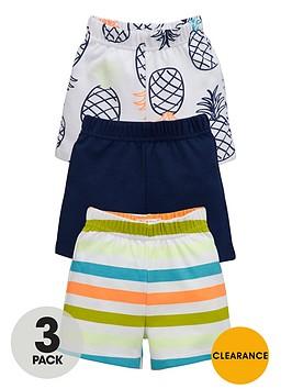 ladybird-baby-boys-bright-pineapple-summer-shorts-3-pack
