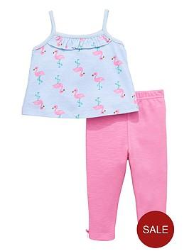 ladybird-baby-girls-flamingo-top-and-leggings-set-2-piece