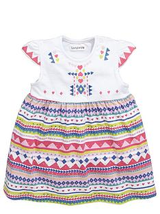 ladybird-baby-girls-bright-tribal-embroidered-dress