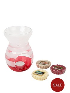 yankee-candle-melt-warmer-and-3-melt-giftset