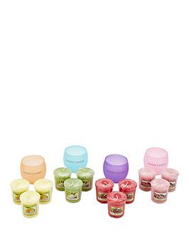 yankee-candle-12-classic-votives-with-4-roly-poly-votive-holders