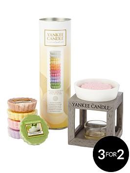 yankee-candle-12-wax-melt-tube-amp-grey-wood-melt-warmer