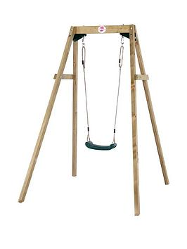 plum-wooden-single-swing-set