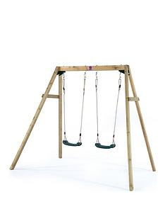 plum-wooden-double-swing-set