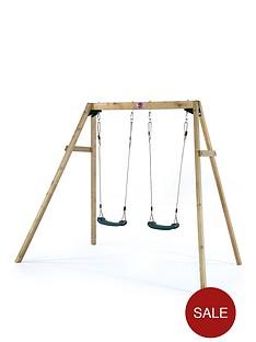 plum-wooden-double-swing-set
