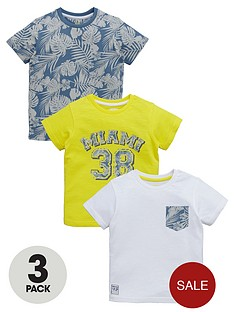 ladybird-boys-miami-38-print-t-shirts-3-pack
