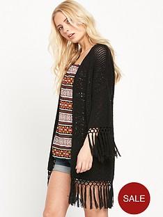 v-by-very-crochet-fringed-cardigan