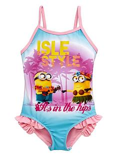 minions-girls-hula-swimsuit