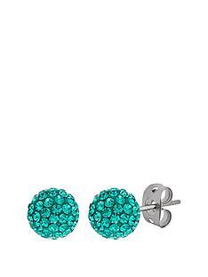 tresor-paris-tresor-paris-bonbon-crystal-amp-titanium-6mm-ball-stud-earrings