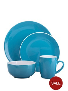 two-tone-16-piece-dinner-set-in-teal-and-white