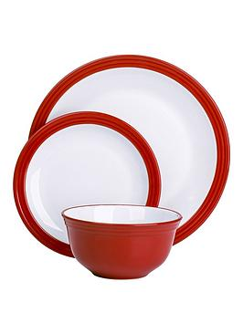 Red Dinner Set Shop For Cheap Products And Save Online