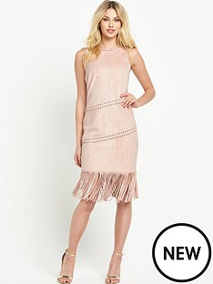 v-by-very-sleeveless-fringe-dress