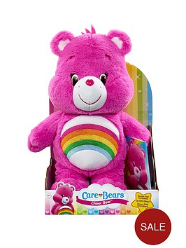 care-bears-medium-plush-with-dvd-cheer-bear