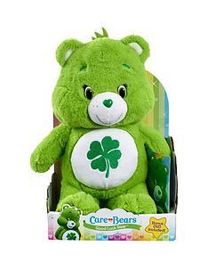 care-bears-medium-plush-with-dvd-good-luck-bear
