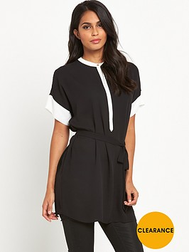 v-by-very-contrast-collar-tunic