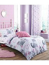 Pretty Kitty Single Duvet Cover Set