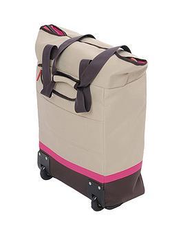 MultiPurpose Trolley In Pink &Ndash 25 X 50 X 38 Cm