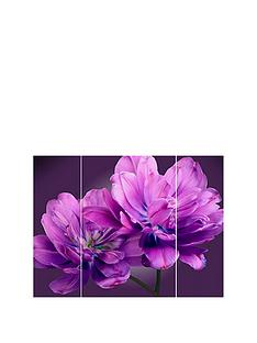 arthouse-plum-tulip-triptych-3-panel-canvas-wall-art