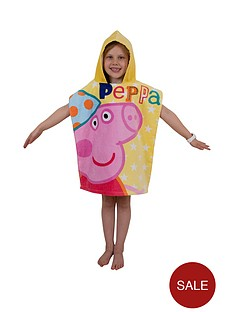 peppa-pig-funfair-poncho-towel