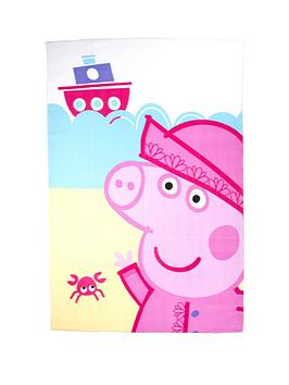 peppa-pig-nautical-fleece-blanket