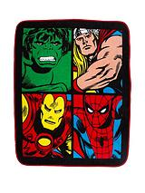 Comic Justice Smash Fleece Blanket
