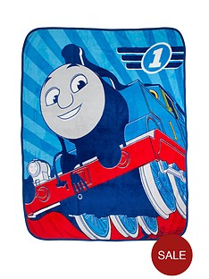 thomas-friends-racer-fleece-blanket