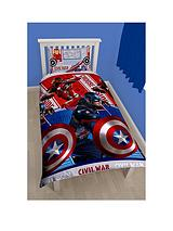 CIVIL WAR ROTARY DUVET SET SB