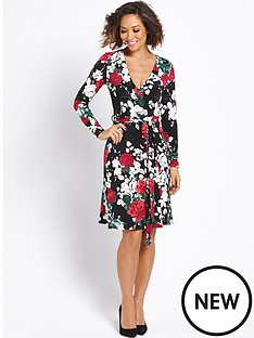 myleene-klass-floral-wrap-dress