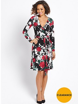 myleene-klass-floral-wrap-dress