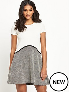 river-island-boucle-swing-dress