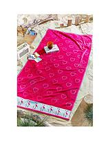 Large Flamingo Beach Towel