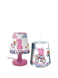 peppa-pig-lightshade-and-bedside-lamp-set