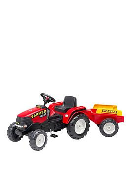 farm-power-tractor-amp-trailer