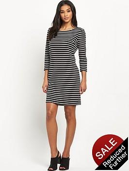 vila-tinny-stripe-dress