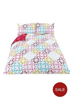fearne-cotton-fearne-cotton-muse-printed-design-duvet-set-multi
