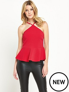 v-by-very-strappy-peplum-top