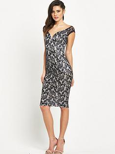 ax-paris-off-the-shoulder-sweetheart-neck-midi-dress