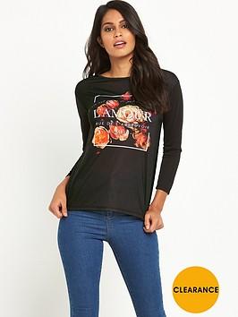 v-by-very-split-back-slogan-t-shirtnbsp