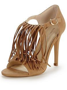 glamorous-fringed-heeled-sandalsnbsp
