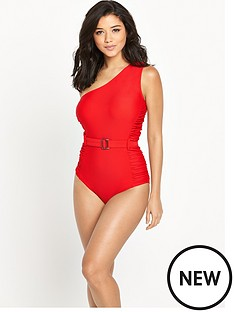v-by-very-control-wear-one-shoulder-ruched-belted-swimsuit
