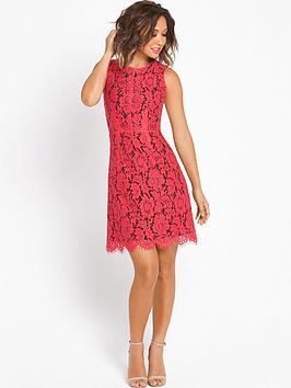 myleene-klass-lace-shift-dress