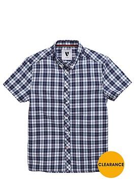 v-by-very-boys-short-sleeved-check-shirt