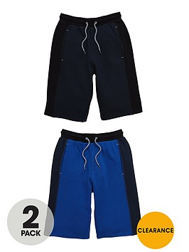 v-by-very-boys-panelled-sweat-shorts-2-pack