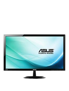 Asus Vp247H 23.6 Inch Fhd 1Ms Response Console &Amp Pc Gaming Monitor With BuiltIn Speakers  Black